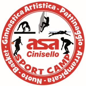 logo sport camp asa cinisello